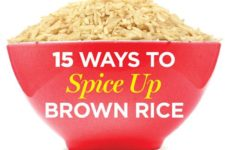 15 Ways To Spice Up your Brown Rice and Lose Weight