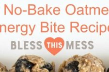 8 No-Bake Oatmeal Energy Bite Recipes!